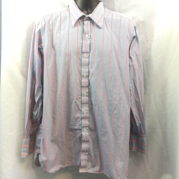 Turnbull & Asser Shirts | Turnbull Asser Striped Button Up Dress ...